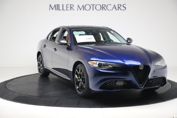 New 2021 Alfa Romeo Giulia Ti Q4 for sale $51,100 at Alfa Romeo of Westport in Westport CT 06880 11