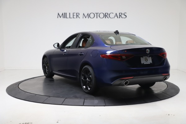 New 2021 Alfa Romeo Giulia Ti Q4 for sale $51,100 at Alfa Romeo of Westport in Westport CT 06880 5