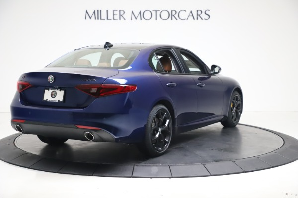 New 2021 Alfa Romeo Giulia Ti Q4 for sale $51,100 at Alfa Romeo of Westport in Westport CT 06880 7