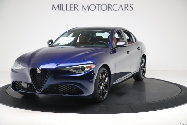 New 2021 Alfa Romeo Giulia Ti Q4 for sale $51,100 at Alfa Romeo of Westport in Westport CT 06880 1