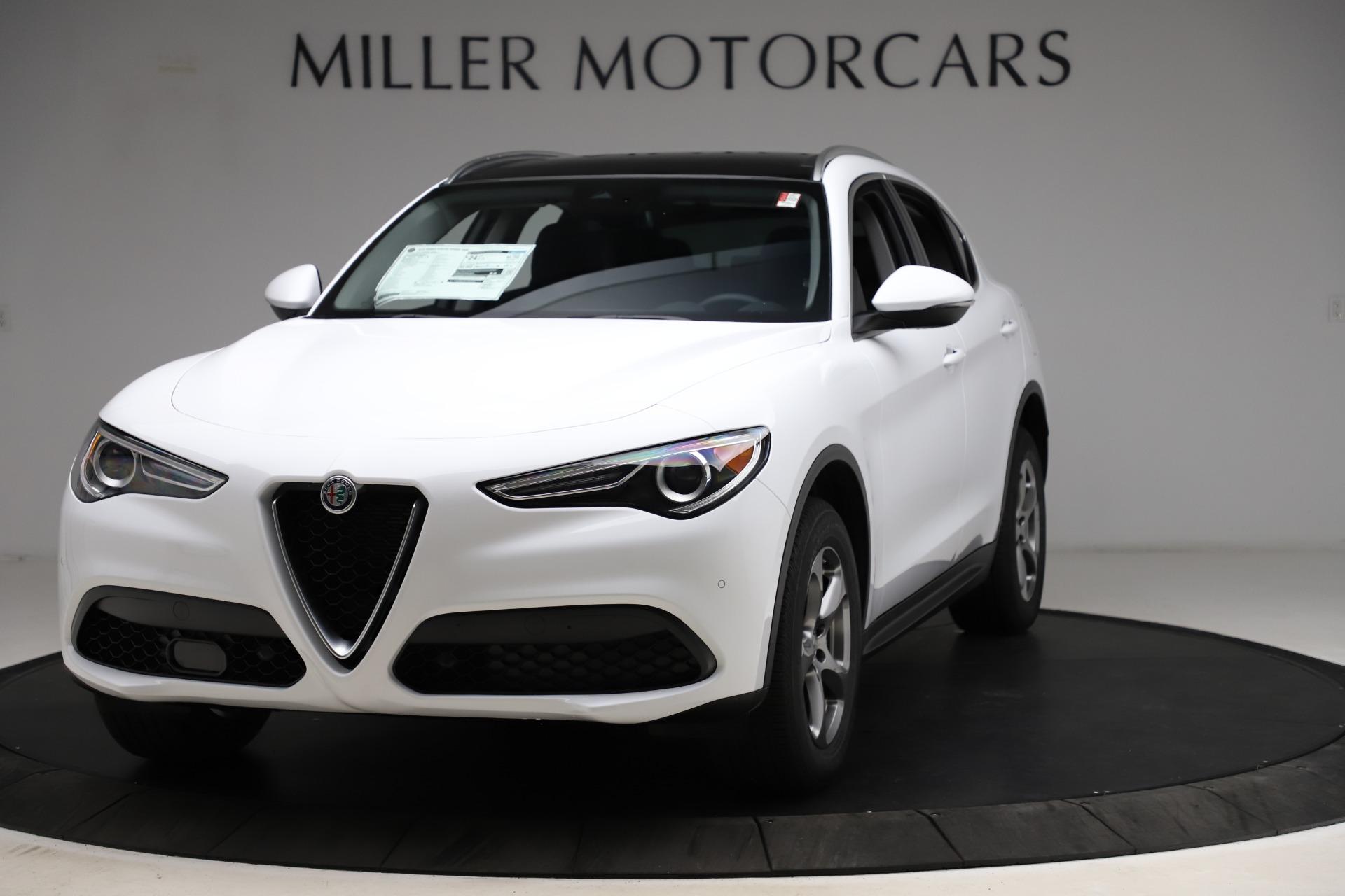 New 2021 Alfa Romeo Stelvio Q4 for sale $47,985 at Alfa Romeo of Westport in Westport CT 06880 1