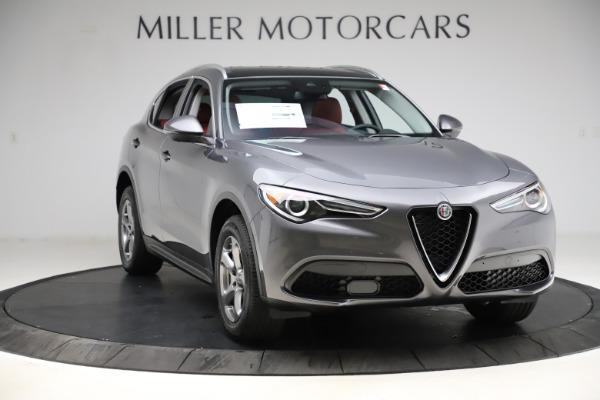 New 2021 Alfa Romeo Stelvio Q4 for sale $48,050 at Alfa Romeo of Westport in Westport CT 06880 11