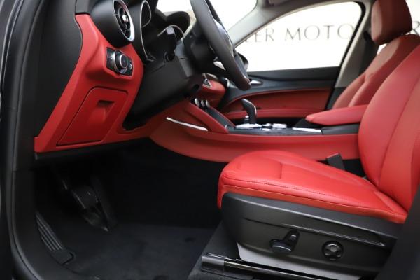 New 2021 Alfa Romeo Stelvio Q4 for sale $48,050 at Alfa Romeo of Westport in Westport CT 06880 14