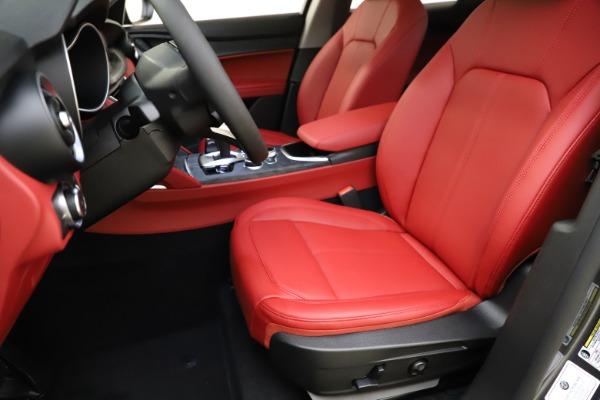 New 2021 Alfa Romeo Stelvio Q4 for sale $48,050 at Alfa Romeo of Westport in Westport CT 06880 15