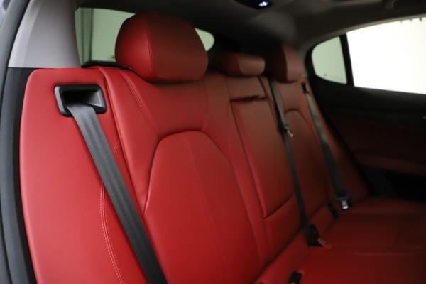 New 2021 Alfa Romeo Stelvio Q4 for sale $48,050 at Alfa Romeo of Westport in Westport CT 06880 26