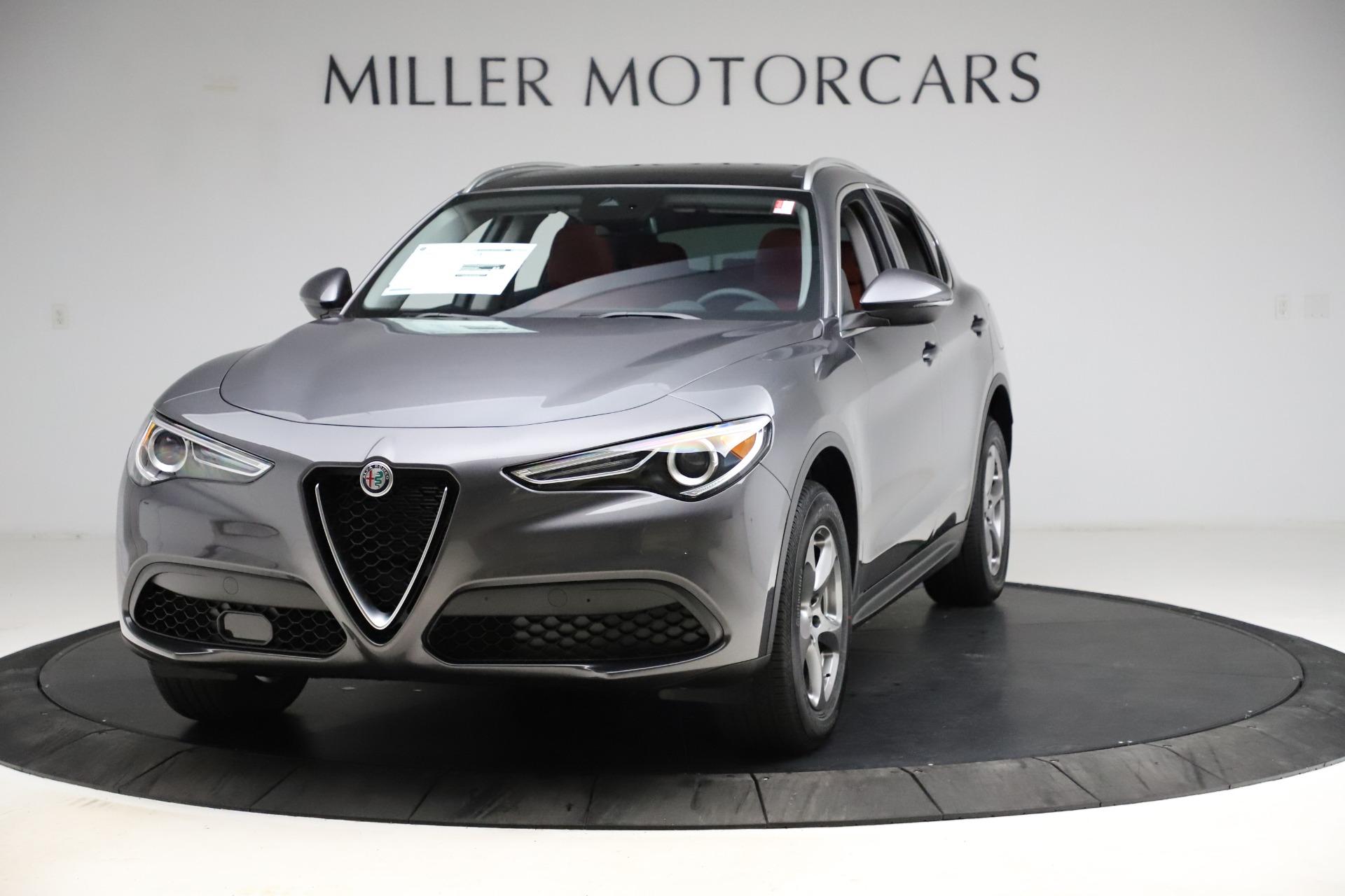 New 2021 Alfa Romeo Stelvio Q4 for sale $48,050 at Alfa Romeo of Westport in Westport CT 06880 1