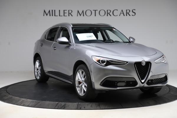 New 2021 Alfa Romeo Stelvio Ti Q4 for sale $55,900 at Alfa Romeo of Westport in Westport CT 06880 11