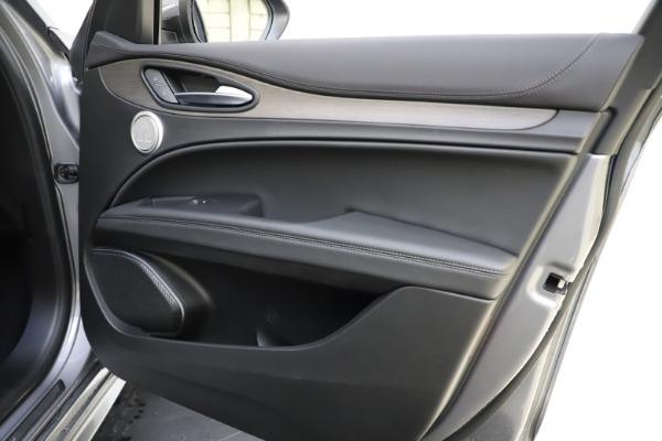 New 2021 Alfa Romeo Stelvio Ti Q4 for sale $55,900 at Alfa Romeo of Westport in Westport CT 06880 25