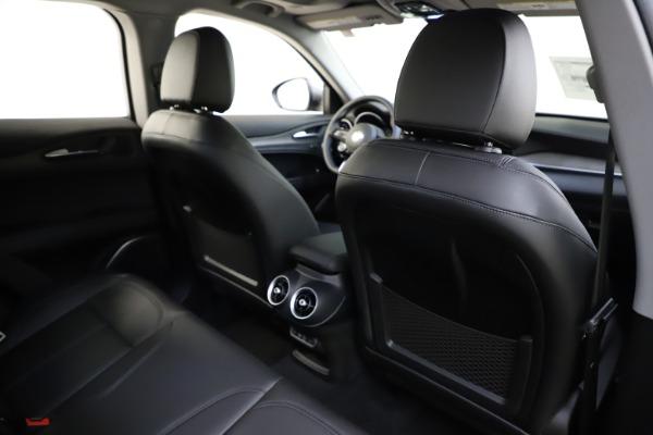 New 2021 Alfa Romeo Stelvio Ti Q4 for sale $55,900 at Alfa Romeo of Westport in Westport CT 06880 28