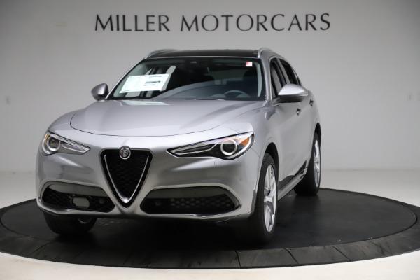 New 2021 Alfa Romeo Stelvio Ti Q4 for sale $55,900 at Alfa Romeo of Westport in Westport CT 06880 1