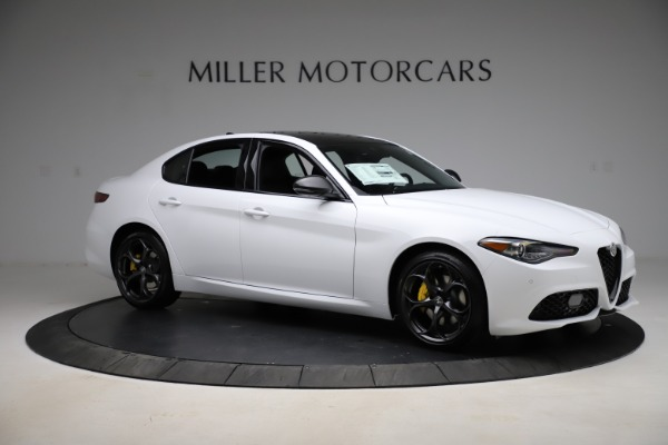 New 2021 Alfa Romeo Giulia Ti Sport for sale $52,940 at Alfa Romeo of Westport in Westport CT 06880 10
