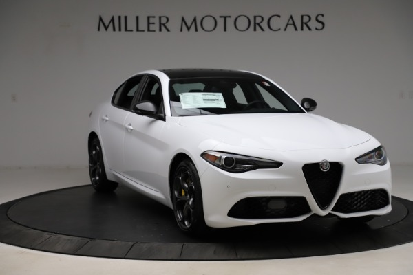New 2021 Alfa Romeo Giulia Ti Sport for sale $52,940 at Alfa Romeo of Westport in Westport CT 06880 11