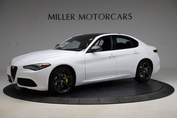 New 2021 Alfa Romeo Giulia Ti Sport for sale $52,940 at Alfa Romeo of Westport in Westport CT 06880 2