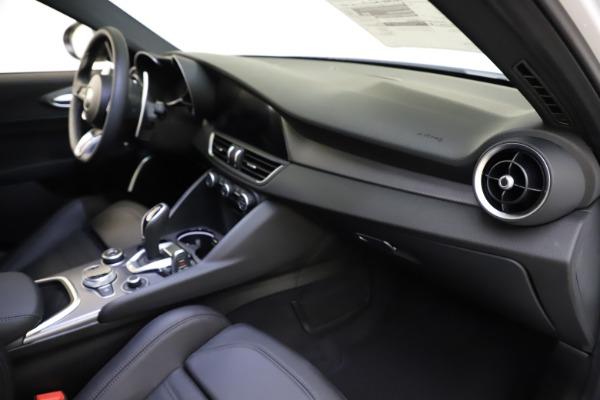 New 2021 Alfa Romeo Giulia Ti Sport for sale $52,940 at Alfa Romeo of Westport in Westport CT 06880 22