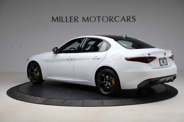 New 2021 Alfa Romeo Giulia Ti Sport for sale $52,940 at Alfa Romeo of Westport in Westport CT 06880 4