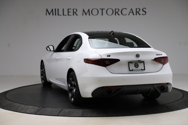 New 2021 Alfa Romeo Giulia Ti Sport for sale $52,940 at Alfa Romeo of Westport in Westport CT 06880 5