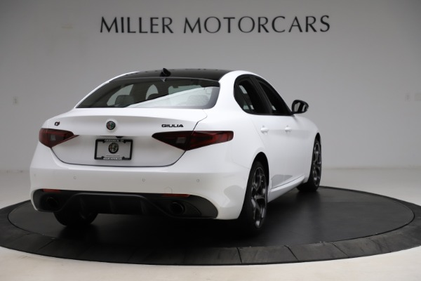 New 2021 Alfa Romeo Giulia Ti Sport for sale $52,940 at Alfa Romeo of Westport in Westport CT 06880 7