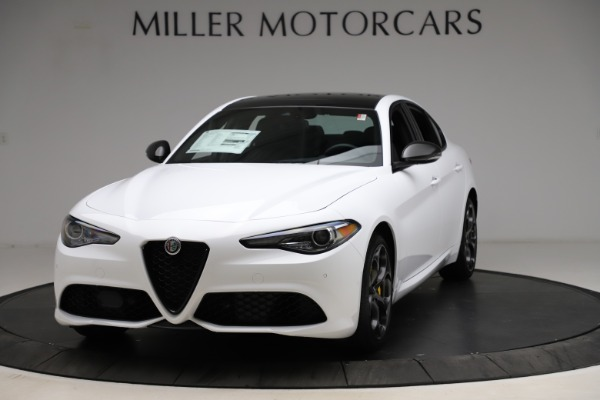 New 2021 Alfa Romeo Giulia Ti Sport for sale $52,940 at Alfa Romeo of Westport in Westport CT 06880 1
