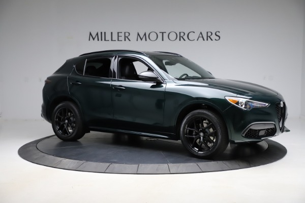 New 2021 Alfa Romeo Stelvio Ti Sport Q4 for sale $56,450 at Alfa Romeo of Westport in Westport CT 06880 10
