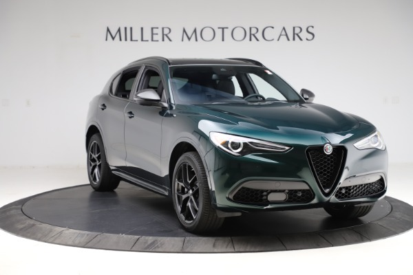 New 2021 Alfa Romeo Stelvio Ti Sport Q4 for sale $56,450 at Alfa Romeo of Westport in Westport CT 06880 11