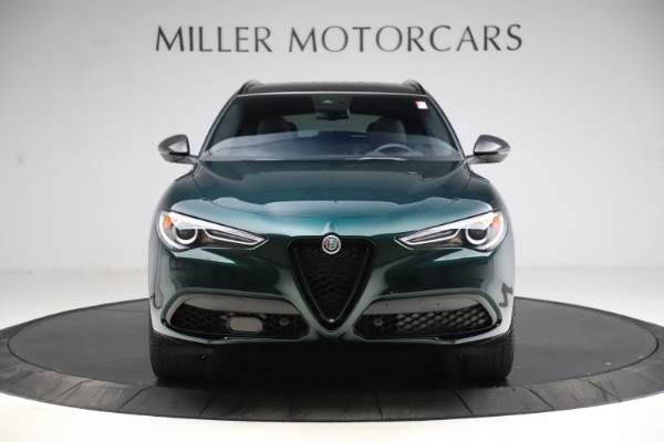 New 2021 Alfa Romeo Stelvio Ti Sport Q4 for sale $56,450 at Alfa Romeo of Westport in Westport CT 06880 12