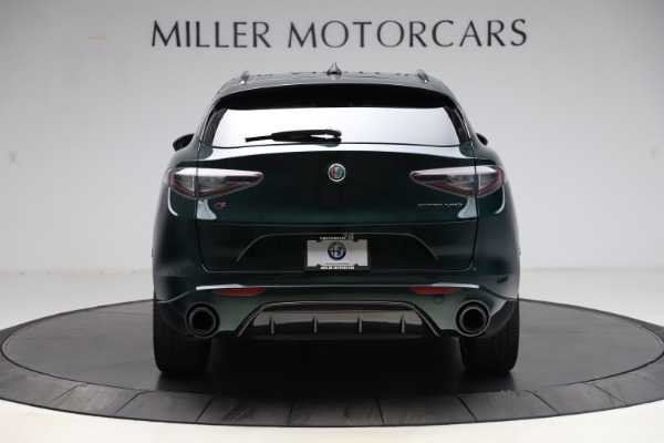 New 2021 Alfa Romeo Stelvio Ti Sport Q4 for sale $56,450 at Alfa Romeo of Westport in Westport CT 06880 6