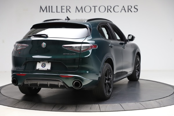 New 2021 Alfa Romeo Stelvio Ti Sport Q4 for sale $56,450 at Alfa Romeo of Westport in Westport CT 06880 7