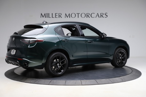 New 2021 Alfa Romeo Stelvio Ti Sport Q4 for sale $56,450 at Alfa Romeo of Westport in Westport CT 06880 8
