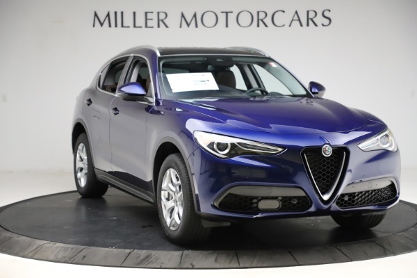 New 2021 Alfa Romeo Stelvio Q4 for sale $49,145 at Alfa Romeo of Westport in Westport CT 06880 11