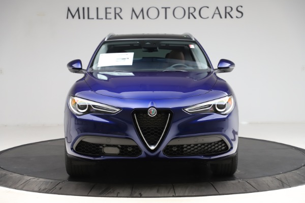New 2021 Alfa Romeo Stelvio Q4 for sale $49,145 at Alfa Romeo of Westport in Westport CT 06880 12