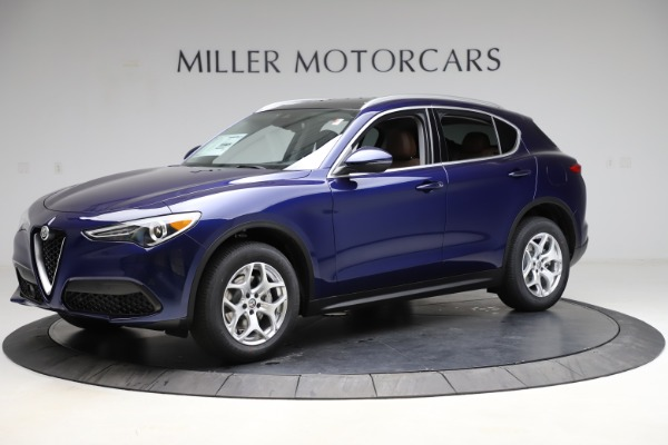 New 2021 Alfa Romeo Stelvio Q4 for sale $49,145 at Alfa Romeo of Westport in Westport CT 06880 2