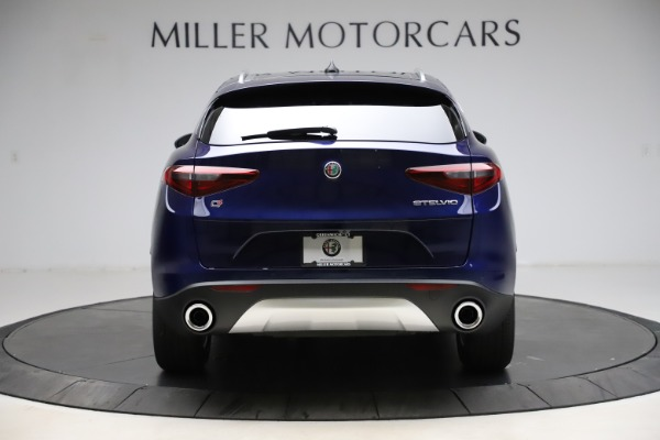 New 2021 Alfa Romeo Stelvio Q4 for sale $49,145 at Alfa Romeo of Westport in Westport CT 06880 6