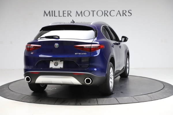 New 2021 Alfa Romeo Stelvio Q4 for sale $49,145 at Alfa Romeo of Westport in Westport CT 06880 7