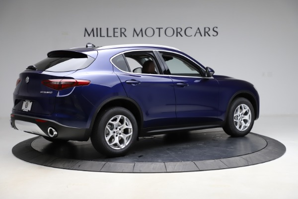 New 2021 Alfa Romeo Stelvio Q4 for sale $49,145 at Alfa Romeo of Westport in Westport CT 06880 8