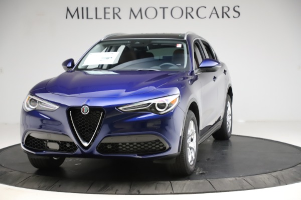 New 2021 Alfa Romeo Stelvio Q4 for sale $49,145 at Alfa Romeo of Westport in Westport CT 06880 1