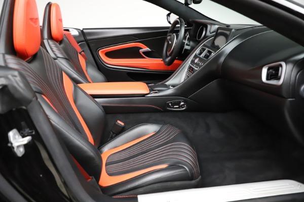 Used 2019 Aston Martin DB11 Volante Volante for sale $204,900 at Alfa Romeo of Westport in Westport CT 06880 21