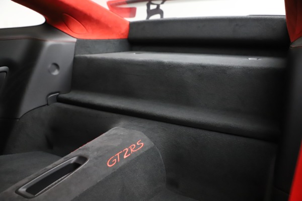Used 2018 Porsche 911 GT2 RS for sale $325,900 at Alfa Romeo of Westport in Westport CT 06880 26