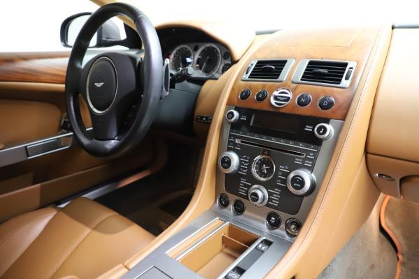 Used 2012 Aston Martin DB9 for sale Call for price at Alfa Romeo of Westport in Westport CT 06880 18