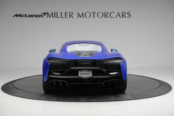 New 2021 McLaren Artura for sale Call for price at Alfa Romeo of Westport in Westport CT 06880 5