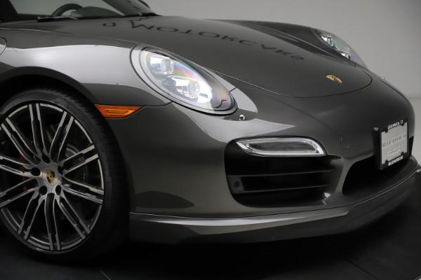 Used 2015 Porsche 911 Turbo for sale $109,900 at Alfa Romeo of Westport in Westport CT 06880 26