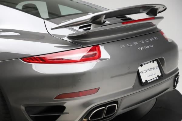 Used 2015 Porsche 911 Turbo for sale $109,900 at Alfa Romeo of Westport in Westport CT 06880 27