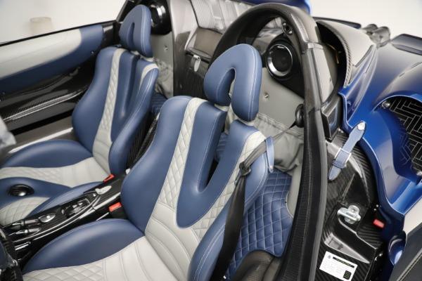 Used 2017 Pagani Huayra Roadster for sale Call for price at Alfa Romeo of Westport in Westport CT 06880 24