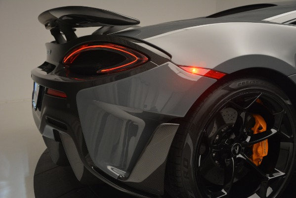 Used 2019 McLaren 600LT Luxury for sale Sold at Alfa Romeo of Westport in Westport CT 06880 27