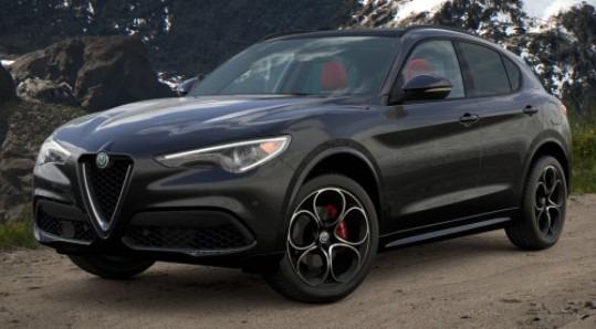 New 2021 Alfa Romeo Stelvio Ti Sport Q4 for sale $57,850 at Alfa Romeo of Westport in Westport CT 06880 1