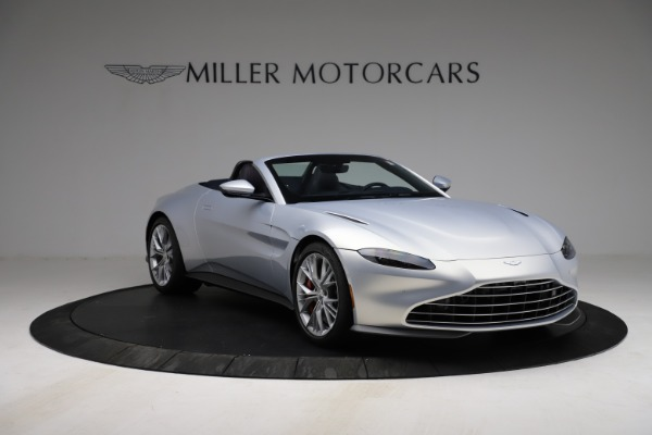 New 2021 Aston Martin Vantage Roadster for sale $184,286 at Alfa Romeo of Westport in Westport CT 06880 10