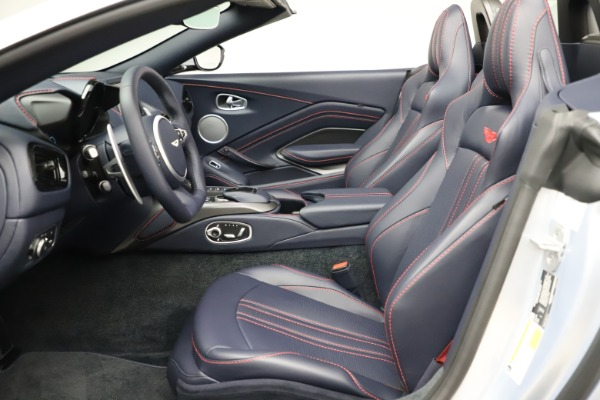 New 2021 Aston Martin Vantage Roadster for sale $184,286 at Alfa Romeo of Westport in Westport CT 06880 15