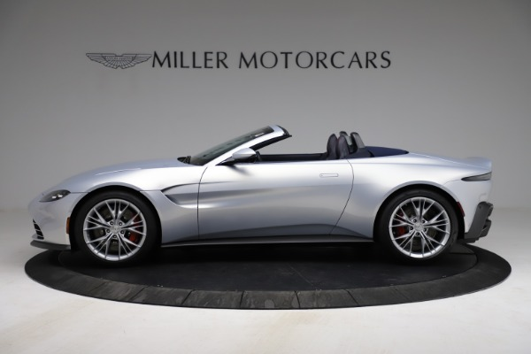 New 2021 Aston Martin Vantage Roadster for sale $184,286 at Alfa Romeo of Westport in Westport CT 06880 2