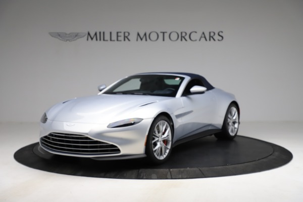 New 2021 Aston Martin Vantage Roadster for sale $184,286 at Alfa Romeo of Westport in Westport CT 06880 21