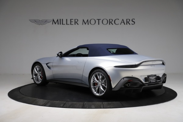 New 2021 Aston Martin Vantage Roadster for sale $184,286 at Alfa Romeo of Westport in Westport CT 06880 23