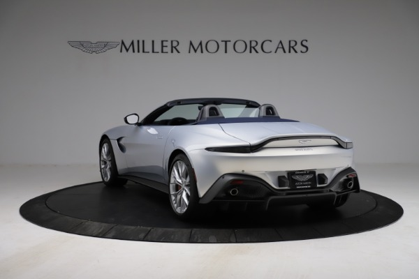 New 2021 Aston Martin Vantage Roadster for sale $184,286 at Alfa Romeo of Westport in Westport CT 06880 4